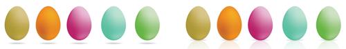 Easter Website Dividers