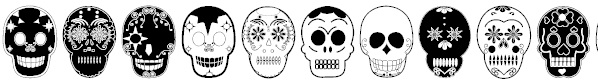Day of the Dead Dingbats