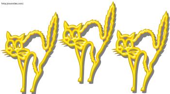 Cat Garland Printable