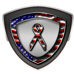 Stars and Stripes Ribbon Awareness
