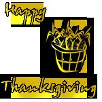 Thanksgiving Badge